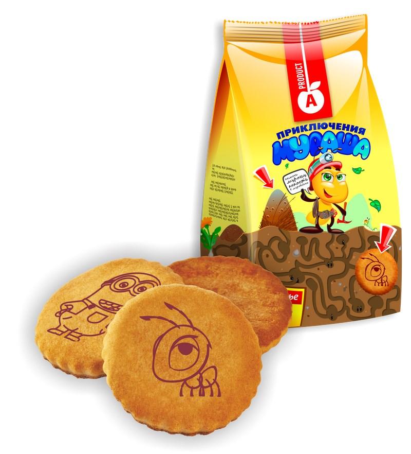 Печенье веселые картинки алматинский продукт, поздравительные